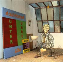 Kippenberger: Spiderman-Atelier