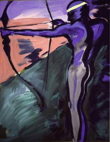 Rainer Fetting - Indianer