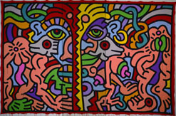 Keith Haring: Untitled, 1985